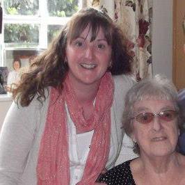 Taken last year on her 90th birthday