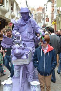 The Purple Man in York!