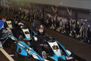 F1 indoor go-karting