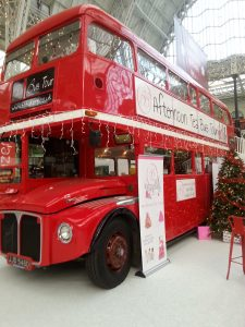 I loved the idea of this- an afternoon tea along with a London landmark tour!